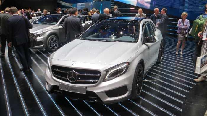 Der neue Mercedes GLA.