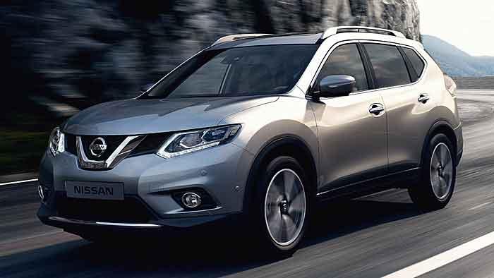 Nissan hat den X-Trail abgerundet.