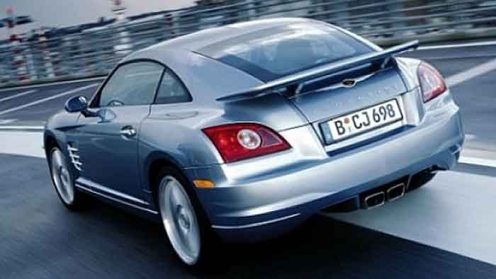 Der Chrysler Crossfire wurde nur vier Jahre lang produziert.