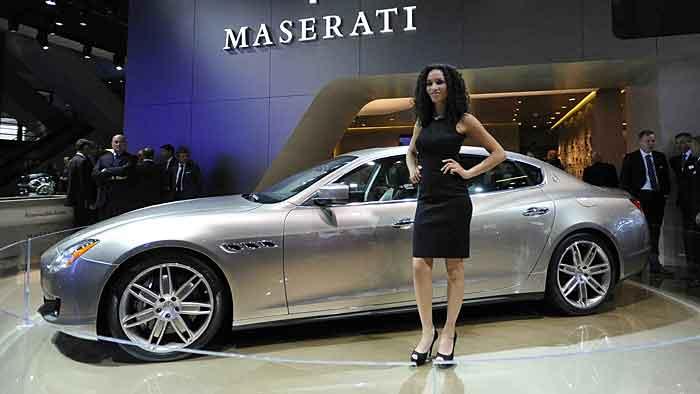Maserati mit drei Premieren