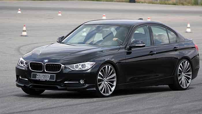 Die Preise für den getunten BMW 330d beginnen bei 57.703,97 Euro.