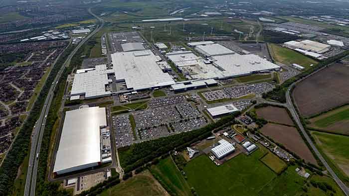 Nissan-Infiniti-Werk in Sunderland
