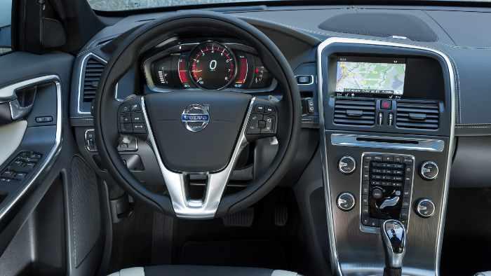 Der Volvo XC60.