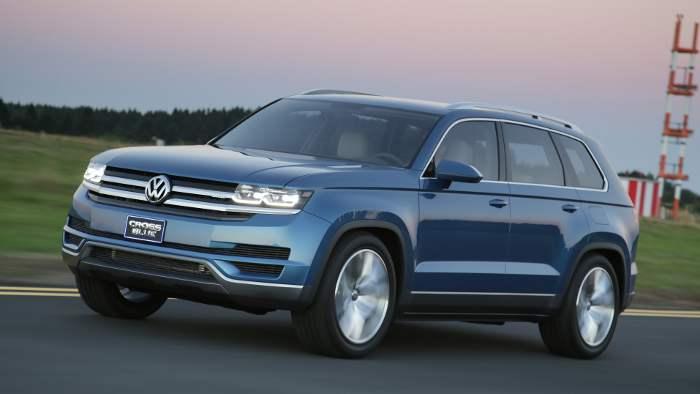 Der VW CrossBlue soll in Chattanooga gebaut werden.
