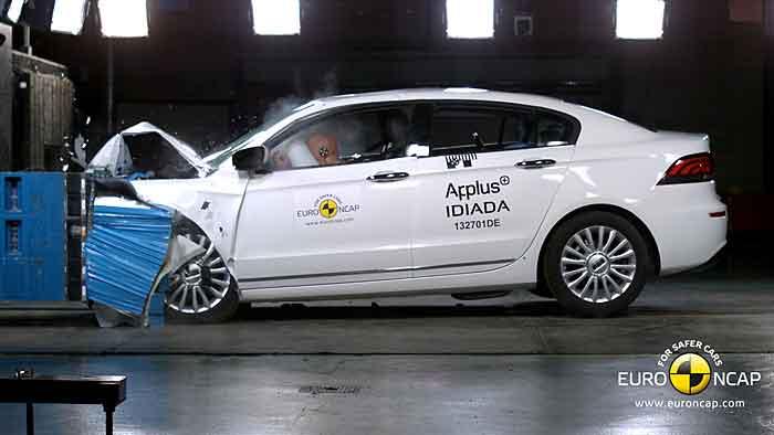 Der Qoros 3 erzielte fünf Sterne beim EuroNCAP-Crashtest
