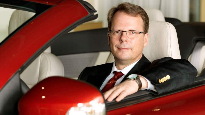 Entwicklungschef Peter Mertens.