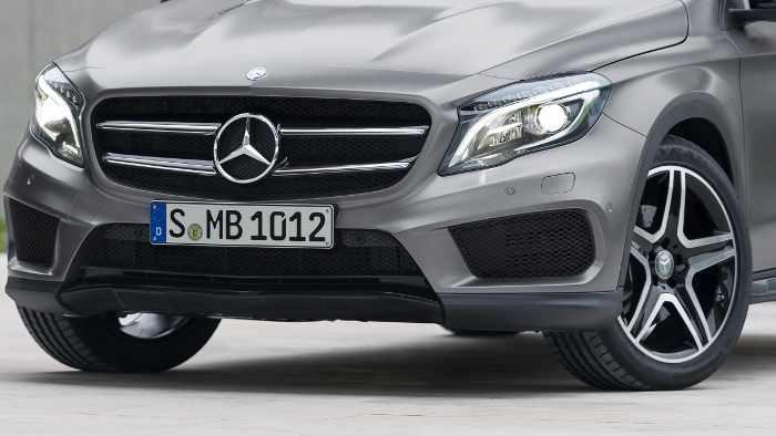 Der Mercedes GLA