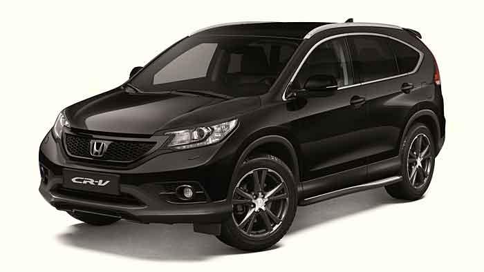 Der Honda CR-V Black Edition ist kein reines Sondermodell.