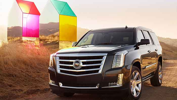 cadillac gibt preis f r escalade bekannt. Black Bedroom Furniture Sets. Home Design Ideas