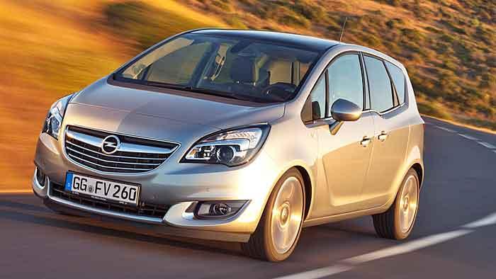 Günstiger Einstiegspreis für Opel Meriva