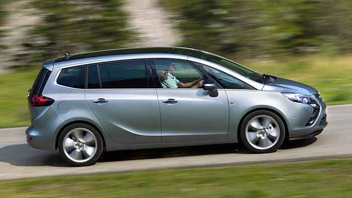 Der Opel Zafira Tourer 1.6
