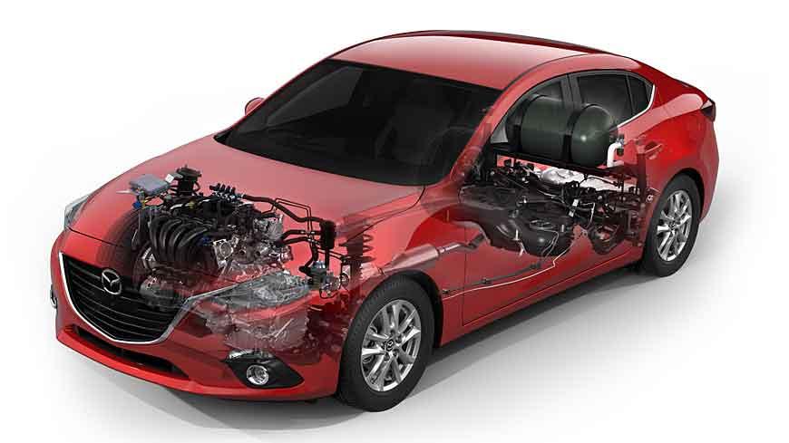 Der Mazda3 CNG Concept soll die gestiegene Nachfrage nach Erdgas befriedigen.