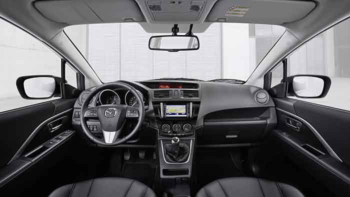 Der Mazda5 gibt sich vor allem sehr alltagstauglich.