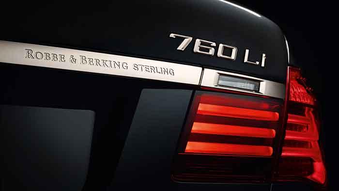BMW Individual 760Li Sterling: Versilbertes Unikat