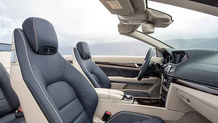 Das Mercedes E 500 Cabrio ist ein Traumwagen nicht nur für den Sommer.