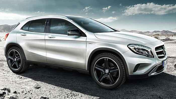 Mercedes bringt auch vom GLA eine Sonderedtion zum Marktstart.