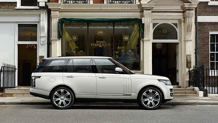 Range Rover lang gestreckt