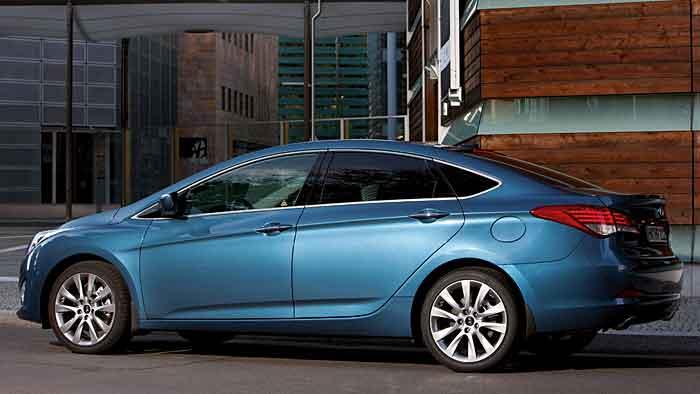 Der Hyundai i40 ist auch als Limousine recht attraktiv.