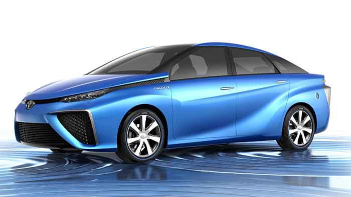Der Toyota FCV Concept verwandelt sich bis Frühjahr in eine Serienversion.