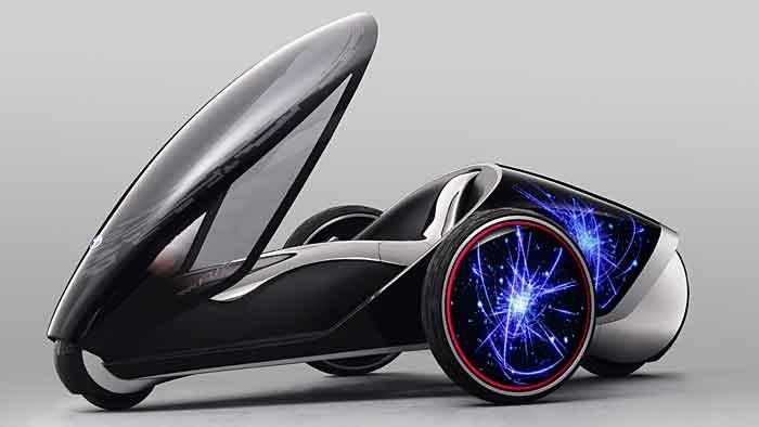 Der Toyota FV2 ist eher als Technologieträger anzusehen.