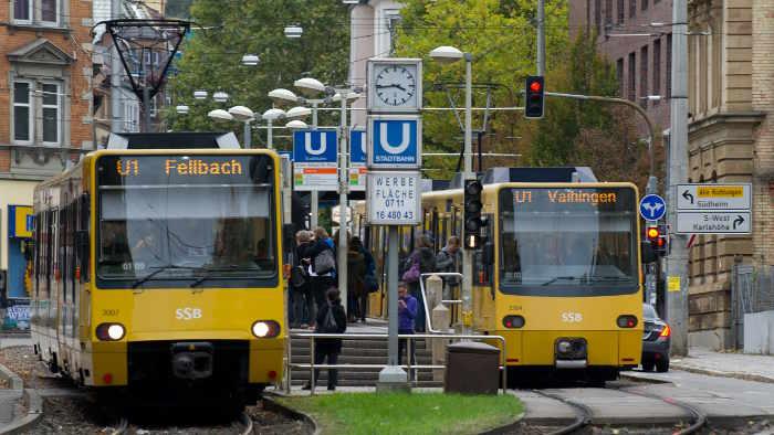 Straßenbahn in Stuttgart