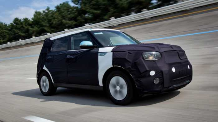 Elektroversion des Kia Soul