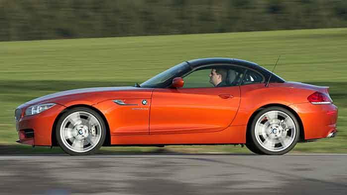 Der BMW Z4 ist als Spaßmobil konzipiert.