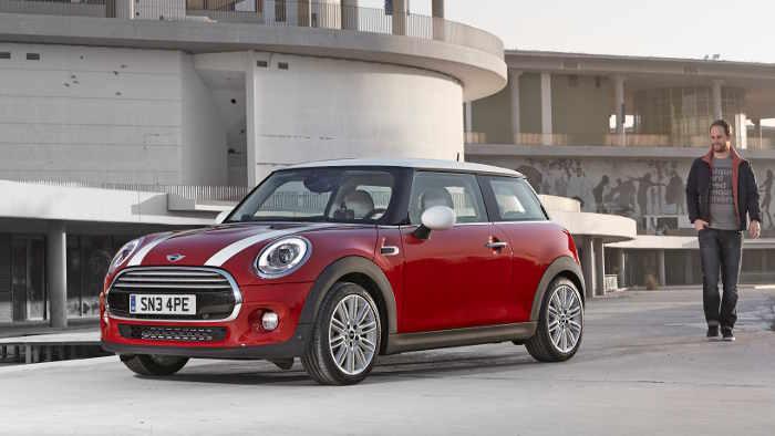 Der neue Mini des Modelljahrs 2014.