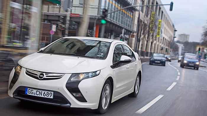Der Opel Ampera fährt in die Rente.