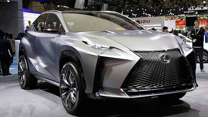 So stellt sich Lexus das neue Kompakt-SUV vor.