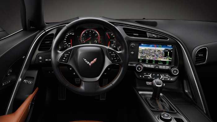 Cockpit der Corvette Stingray