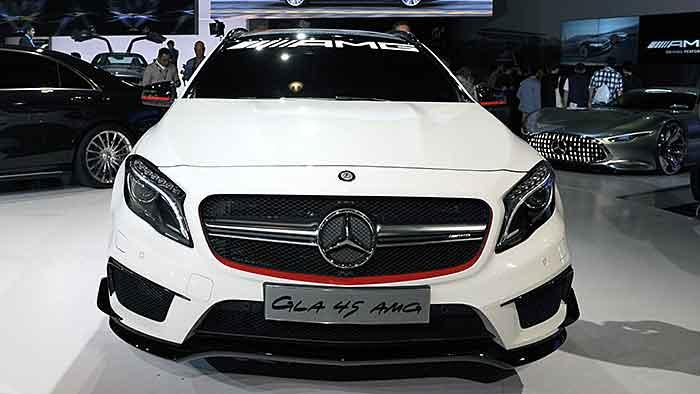 Mercedes gibt einen Ausblick auf die AMG-Variante des GLA.