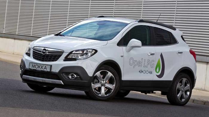 Der Opel Mokka LPG.