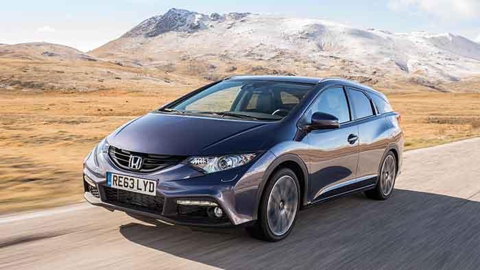 Der neue Honda Civic Tourer kostet mindestens 21.550 Euro.