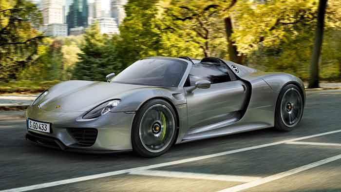 Porsche beendet die Produktion des 918 Spyder