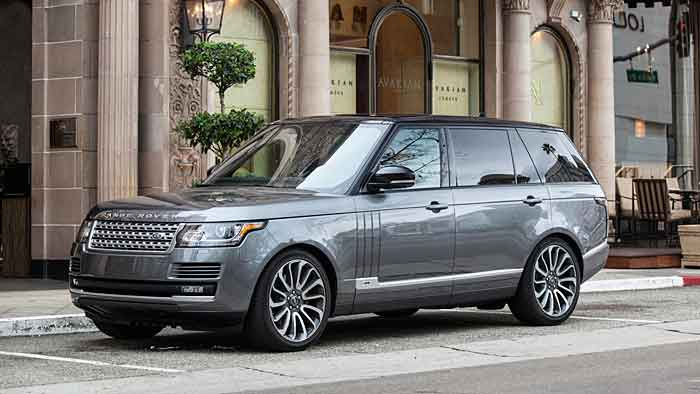 Der Range Rover ist um 20 Zentimeter in der Länge gewachsen.