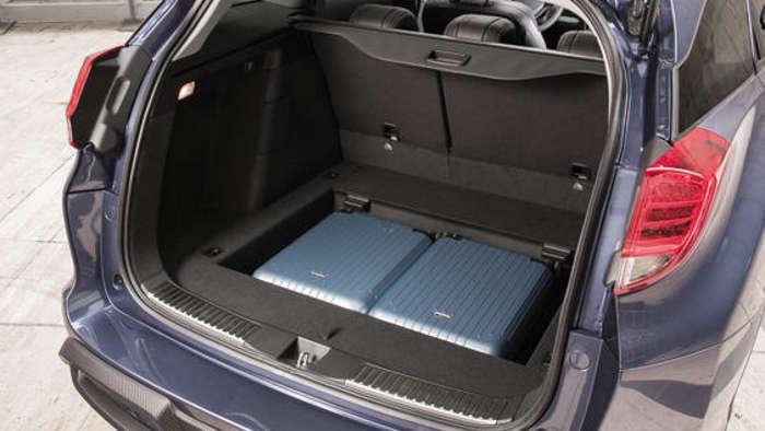 Der Kofferraum des Honda Civic