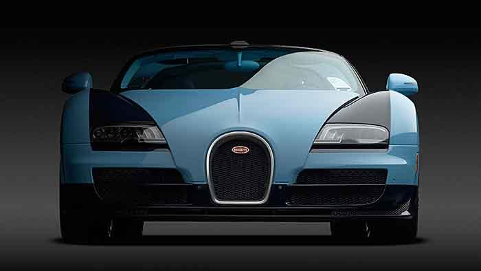 Bugatti Veyron auf Abschiedstournee