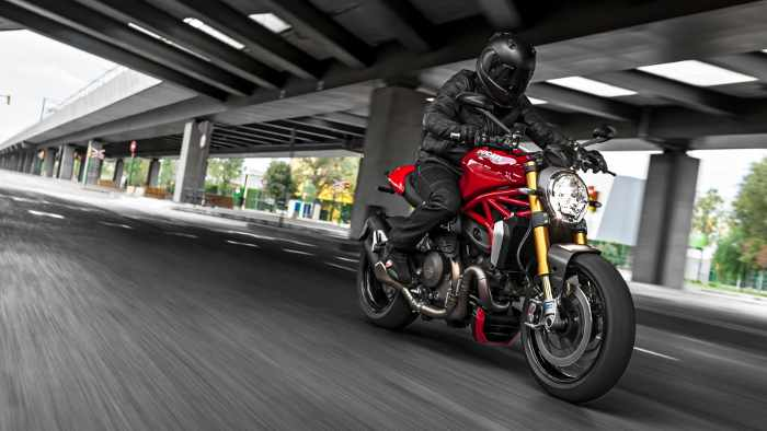 Die Ducati Monster 1200 S