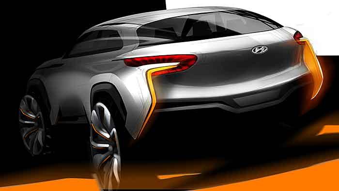 Das erste Bild von der Hyundai-Studie Intrado