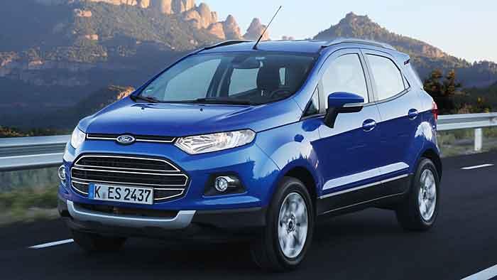 Der Ford EcoSport kommt 2014 nach Deutschland.