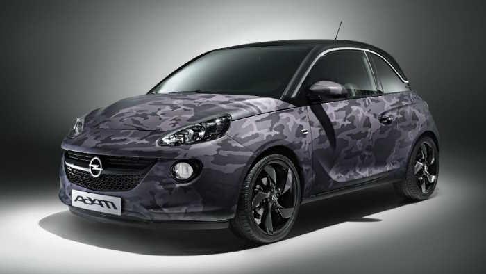 Der Opel Adam von Bryan Adams gestaltet.