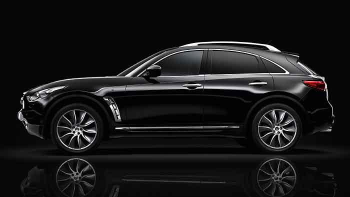 Der Infiniti FX 30d S Premium Black and White-Edition überzeugt auch ohne Perfektion.