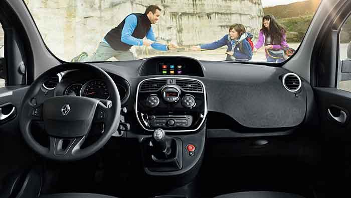 Renault hat den Kangoo aufgewertet.