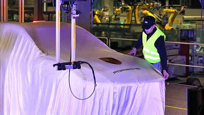 Die Produktion des Macan ist im Porsche-Werk in Leipzig schon angelaufen.
