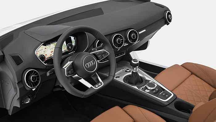 Neuer Innenraum für den Audi TT