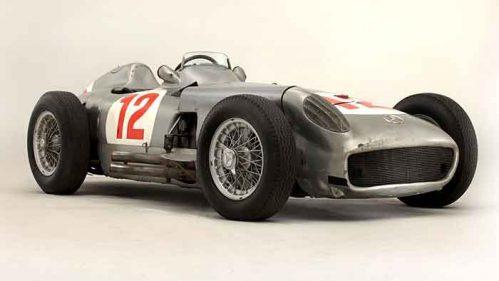 Der Mercedes W 196 Silberpfeil brachte knapp 30 Millionen Dollar ein.