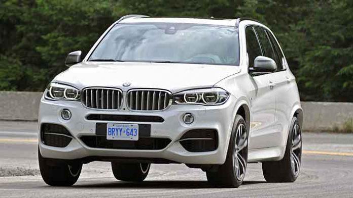 Der BMW X5 ist bei Dieben beliebt.
