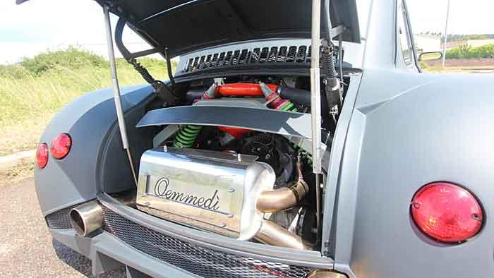 Der Fiat 599 CV ist eine Kreuzung aus Cinquecento und Lambo Murcielago.