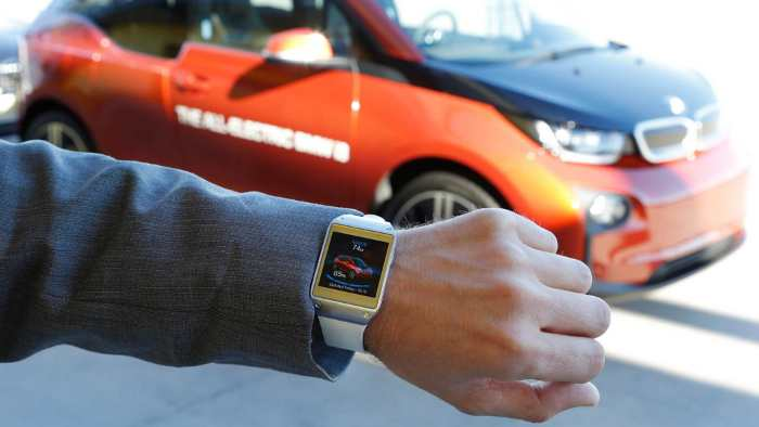 Die Smartwatch für den BMW i3